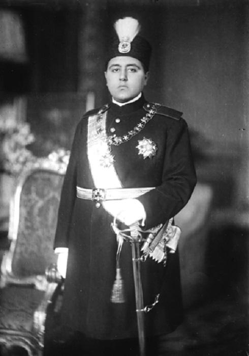 احمدشاه قاجار، تصویر احمدشاه
