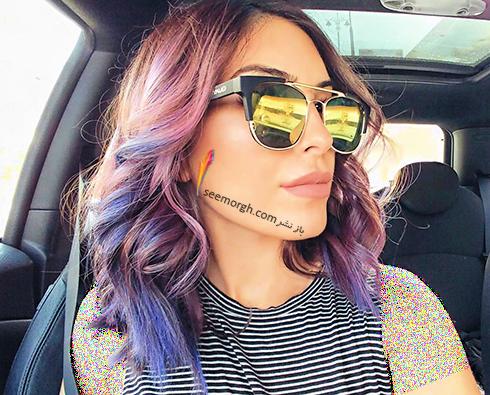 بالیاژ روی موی مشکی برای تابستان 2018,بالیاژ,مدل بالیاژ,جدیدترین مدل بالیاژ,بالیاژ برای تابستان,مدل بالیاژ تابستانی,