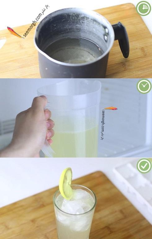 لیموناد,لیموناد اناناس,لیموناد آناناس ساده