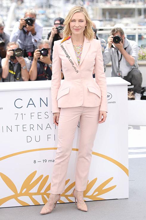 کت و شلوار زنانه به سبک کيت بلانشت Kate Blanchett,کت و شلوار,مدل کت و شلوار,کت و شلوار زنانه,مدل کت و شلوار زنانه,مدل کت و شلوار زنانه ,کت و شلوار زنانه 2018