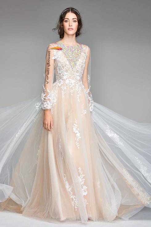 بهترین مدل لباس عروس طلایی برای تابستان 2018,لباس عروس,مدل لباس عروس,لباس عروس طلایی,مدل لباس عروس طلایی, لباس عروس برای تابستان,مدل لباس عروس برای تابستان 2018,لباس عروس بژ طلایی