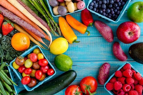 سبزیها و میوه ها,سبزی ها و میوه های رنگی