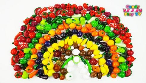 سبزی ها و میوه ها,سبزی ها و میوه های رنگی