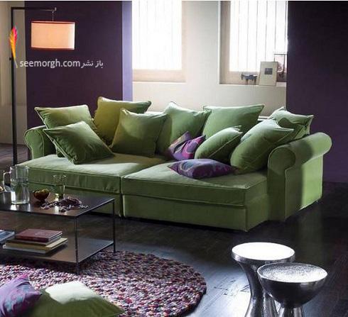 دکوراسیون داخلی,طراحی دکوراسیون داخلی,دکوراسیون داخلی منزل,ترکیب رنگ در دکوراسیون داخلی,سبز در دکوراسیون داخلی,مبلمان