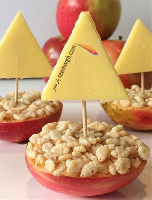 تزیین غذای,تزئین غذای کودک,تزیین غذای کودک,کودک بدغذا,ایده تزیین غذای کودک,تزئین میوه کودک,تزیین میوه برای تولد کودک
