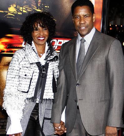 دنزل واشنگتن Denzel Washington و پائولتا واشنگتن aula Washington,ازدواج های موفق هالیوودی,ازدواجهای موفق در دنیای هالیوود