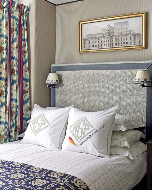 اتاق خواب,چیدمان اتاق خواب کوچکا,اصول چیدان لوازم در اتاق خواب کوچک,نصب آباژور دیواری روی سرتخت در اتاق خواب های کوچک