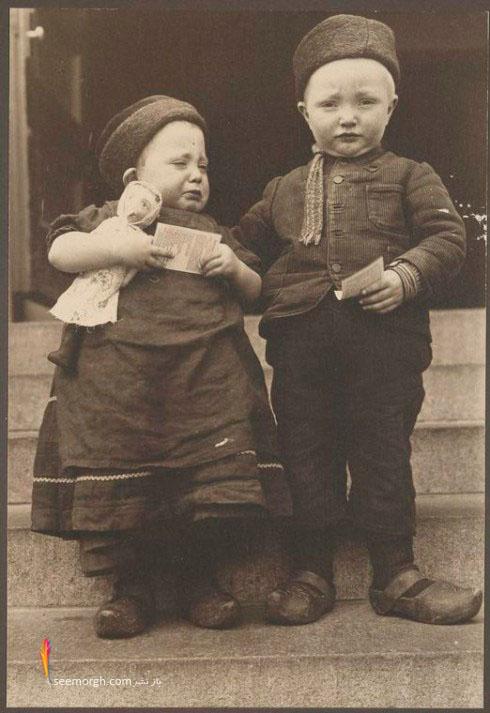 بچه,هلندی,عکس,قدیمی
