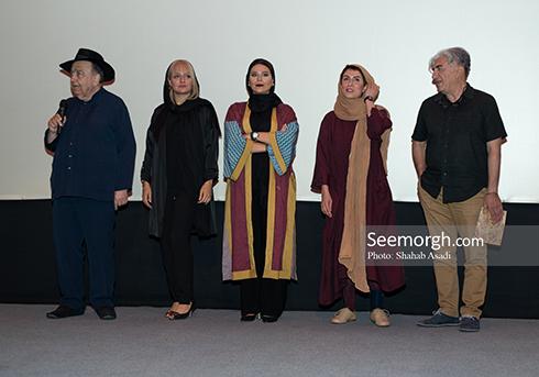حضور بازیگران و عوامل دلم می خواد در اکران مردمی، تصویر رضا کیانیان، تصویر مهناز افشار
