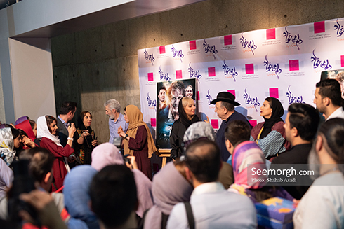 حضور مردم در اکران دلم می خواد، تصویر مهناز افشار، تصویر بهمن فرمان آرا