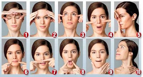 ماساژ صورت,جوانسازی پوست,کاهش چین و چروک,جلوگیری از پیری,جوان سازی پوست صورت با ماساژ