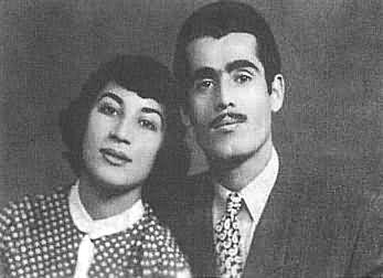فروغ فرخزاد و پرویز شاپور, فروغ فرخزاد و همسرش