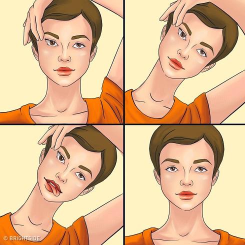 ماساژ,ماسا عضلات گیجگاه,ماساژ صورت,جوانسازی پوست,کاهش چین و چروک,لیفت طبیعی پوست,جلوگیری از چین و چروک,جوان سازی پوست صورت با عضلات گیجکاه
