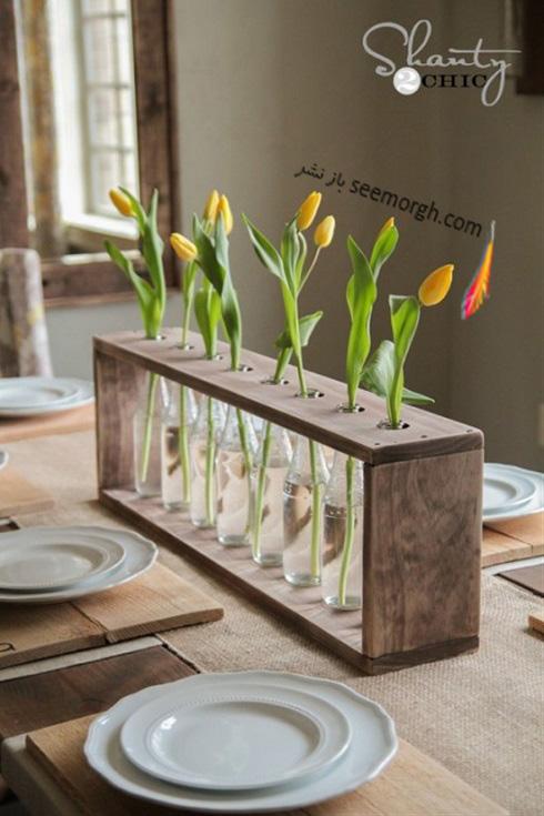 ساخت گلدان,درست کردن گلدان,آموزش ساخت گلدان,آموزش ساخت گلدان با وسایل دور ریختنی,ساخت گلدان با بطری,تزیین گلدان با بطری شیشه ای