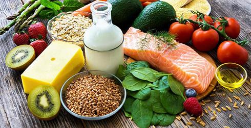 ویتامین A,منابع ویتامین A,ریزش مو