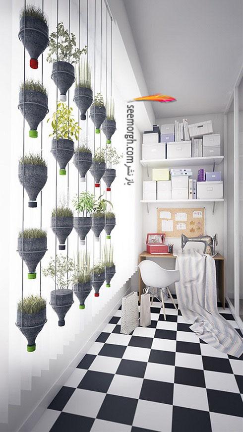 گیاهان آپارتمانی,گل های آپارتمانی,چیدمان خانه با گیاهان,پرورش گیاهان آپارتمانی,گلدان ارزان قیمت