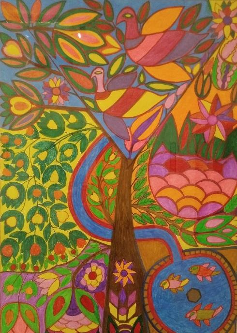 تابلوی نقاشی حسن مرادی 1