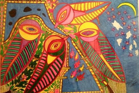 تابلوی نقاشی حسن مرادی