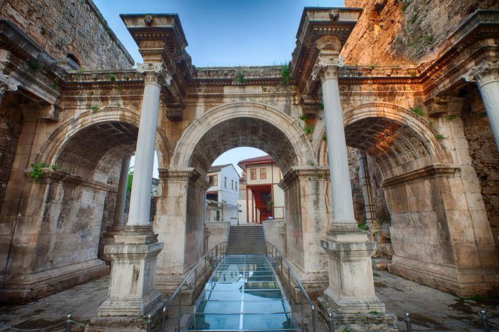 مکان های تاریخی,جاذبه های گردشگری آنتالیا