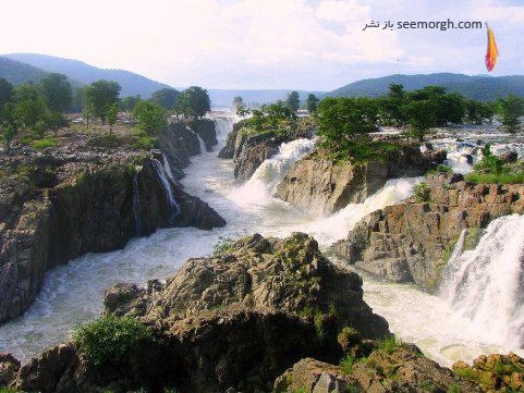 Hoggenakal,آبشار, هند