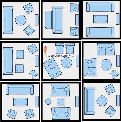 مبلمان,مبل,چیدن مبلمان,چیدن مبلمان,روشهای چیدن مبلمان در آپارتمان های کوچک,10 ایده برای چیدمان مبلمان در خانه  های کوچک