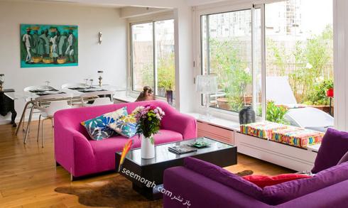 چیدن کاناپه در خانه های کوچک,مبل,مبلمان,چیدن مبل,چیدن مبلمان,چیدن مبل در آپارتمان های کوچک,چیدن مبلمان در آپارتمان های کوچک