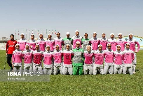 اعضای تیم ملی فوتبال دختران زیر 19 سال