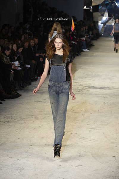 لباس بیلر جین,لباس سرهمی بیلرسوت,لباس سرهمی بیلر جین