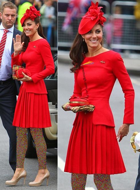 کیت میدلتون,لباس کیت میدلتون از برند الکساندر مک کوئین,لباس کیت میدلتون در سال 2013,مدل لباس کیت میدلتون Kate Middleton در سال 2013 از برند الکاسندر مک کوئین Alexander McQueen