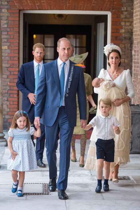 لباس کیت میدلتون,لباس کیت میدلتون در مراسم غسل تعمید فرزندش,مدل لباس کیت میدلتون Kate Middleton در مراسم غسل تعمید پرنس لوئی
