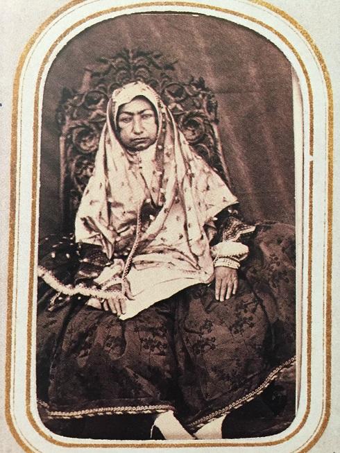 مهدعلیا، مادر ناصرالدین شاه، تصویر مهدعلیا