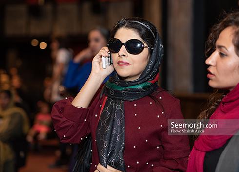 مريم حيدرزاده, عکس جديد مريم حيدرزاده, مريم حيدرزاده در اکران خصوصي سريک