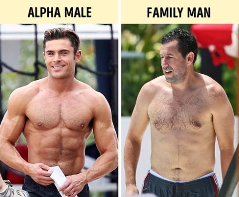 اندام مردانی که زنان را جذب می کند,خصوصیات مردانی که زنان را جذب می کند