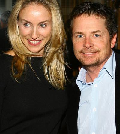 راز ازدواج های موفق هالیوودی,زوج های موفق هالیوودی,مایکل جی فاکس Michael J Fox و تریسی پولان Tracy Polan