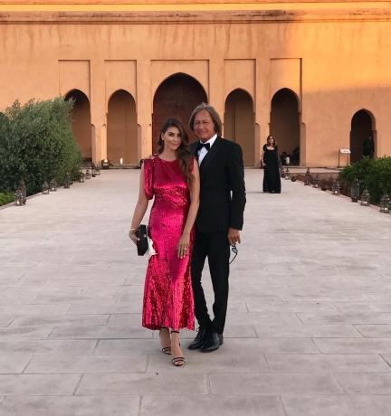 محمد حدید و نامزدش ایرانی اش شیوا صفایی