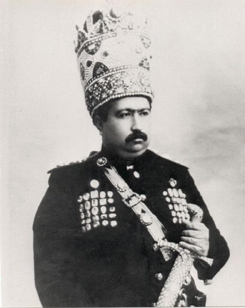 محمدعلی شاه قاجار، تصویر شاه قاجار
