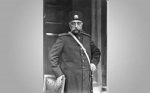 مظفرالدین شاه قاجار، تصویر شاه قاجار
