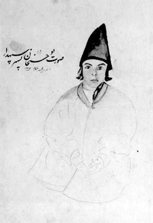 نقاشی ناصرالدین شاه، تصویر نقاشی شاه قاجار