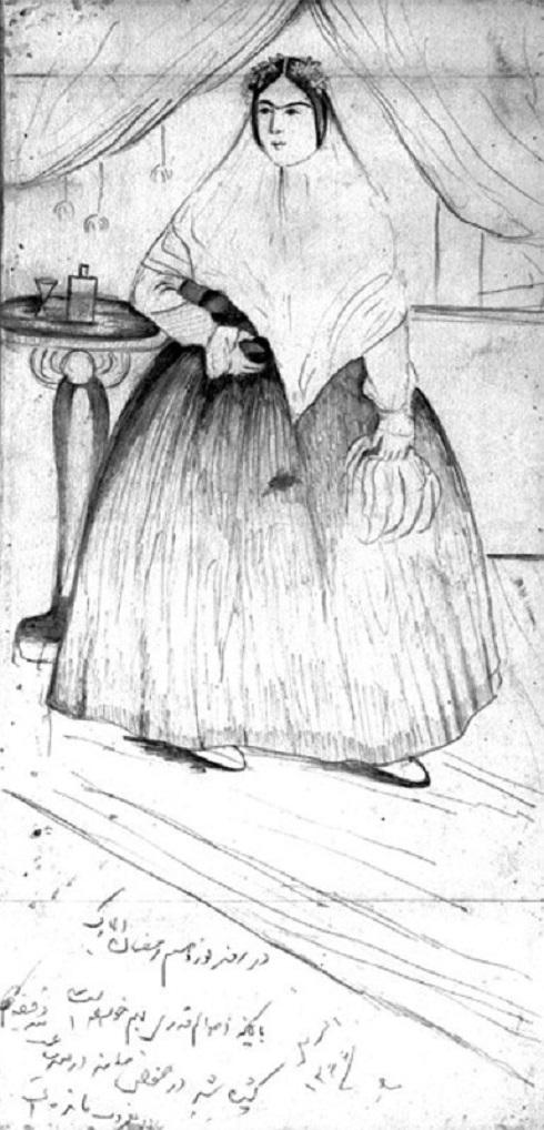 نقاشی ناصرالدین شاه، تصویر نقاشی ناصرالدین شاه
