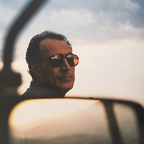 عکس عباس کیارستمی که توسط نیکی کریمی گرفته شده بود