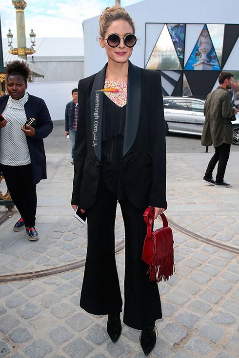 کت و شلوار زنانه به سبک اوليويا پالرمو Olivia Palermo,کت و شلوار,مدل کت و شلوار,کت و شلوار زنانه,مدل کت و شلوار زنانه,مدل کت و شلوار زنانه ,کت و شلوار زنانه 2018