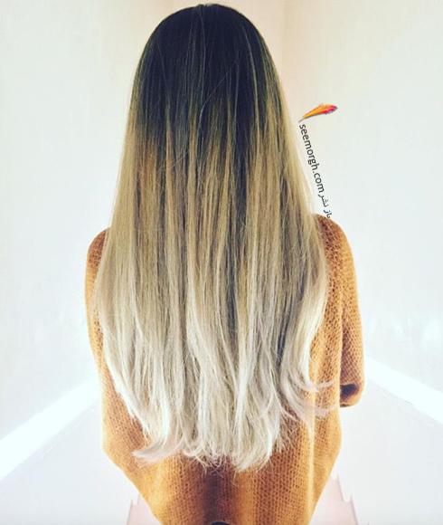 بهترین بالیاژ روی موی مشکی برای تابستان 2018,بالیاژ,مدل بالیاژ,جدیدترین مدل بالیاژ,بالیاژ برای تابستان,مدل بالیاژ تابستانی,