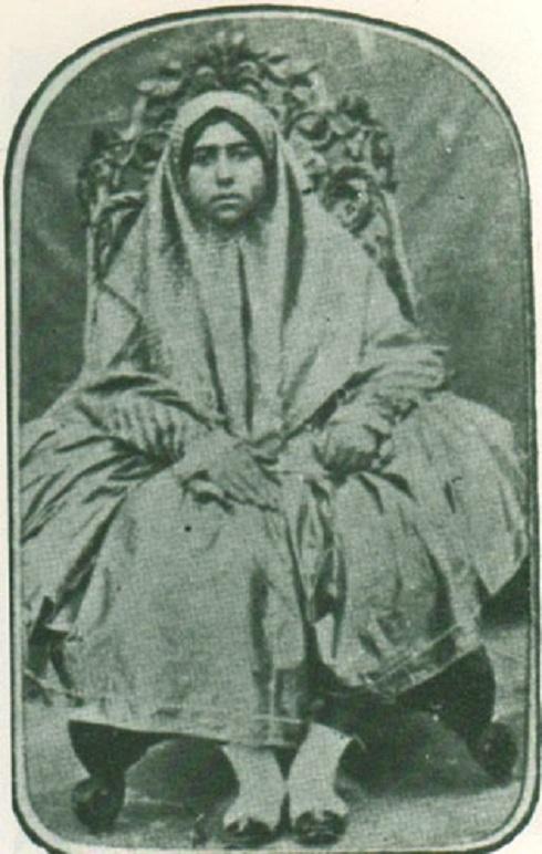 تاج الملوک، دختر امیرکبیر و مادر محمدعلی شاه، تصویر ام خاقان