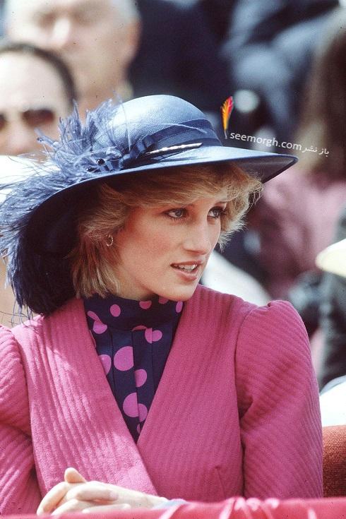 مدل کلاه,پرنسس دایانا,کلاه لبه دار زنانه