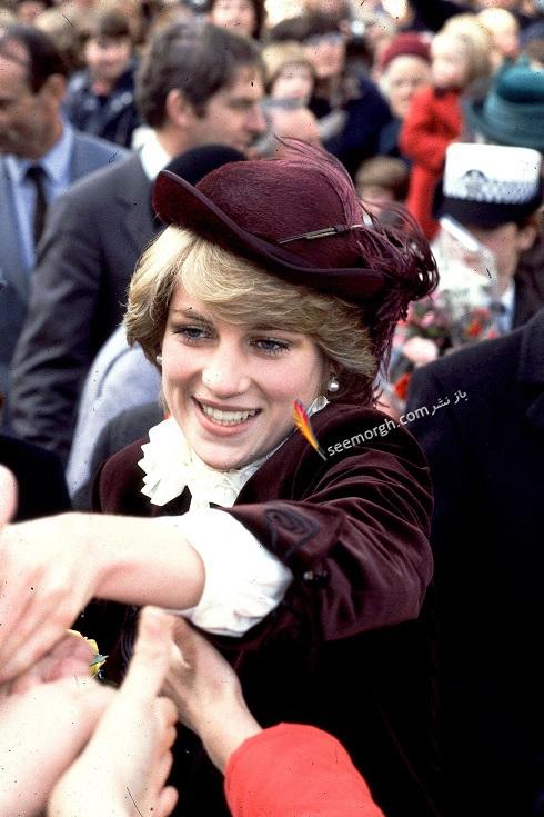 مدل کلاه,مدل کلاه پرنسس دایانا,مدل کلاه زنانه خاندان سلطنتی