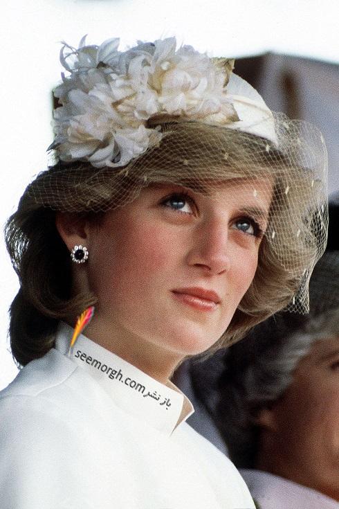 مدل کلاه,مدل کلاه پرنسس دایانا,مدل کلاه خاندان سلطنتی