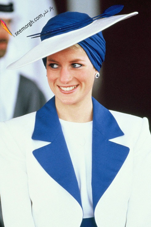 مدل کلاه,مدل کلاه پرنسس دایانا,کلاه لبه دار پرنسس دایانا