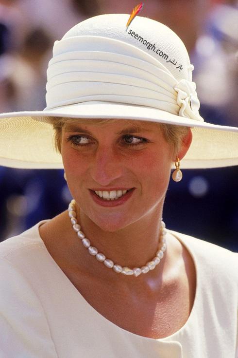 مدل کلاه,مدل کلاه پرنسس دایانا,مدل کلاه لبه دار سفید زنانه