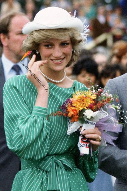مدل کلاه,مدل کلاه پرنسس دایانا,کلاه خاندان سلطنتی,