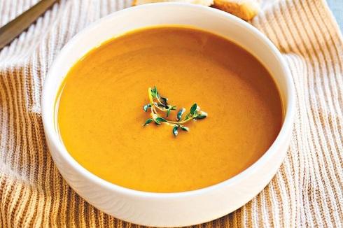 سوپ کدو حلوايي